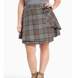 Torrid Outlander Fraser Tartan Plaid Mini Skirt